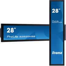 """Monitor prezentacyjny iiyama ProLite S2820HSB-B1 28"""" 24/7..."""