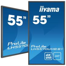 """iiyama LH5570UHB-B1 55"""" profesjonalny wyświetlacz Digital..."""