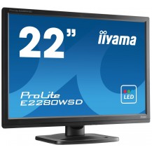 Monitor iiyama ProLite  E2280WSD-B1 22'' 16:10 LED