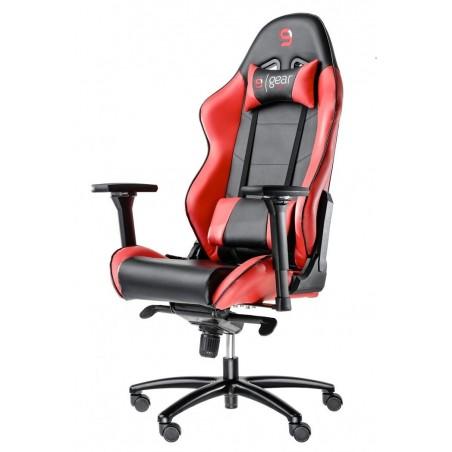 Fotel SPC Gear SR500 RED (Czerwony, skóra ekologiczna)