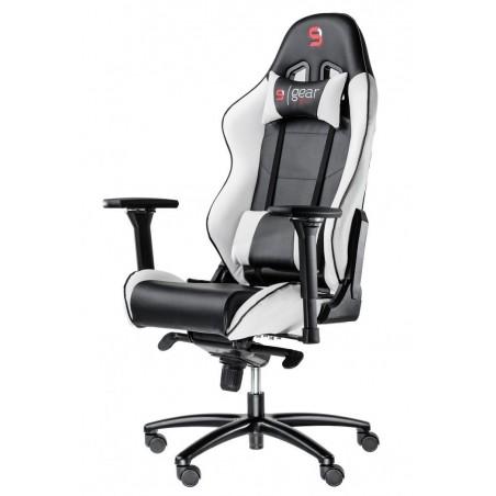 Fotel SPC Gear SR500 WHITE (Biały, skóra ekologiczna)