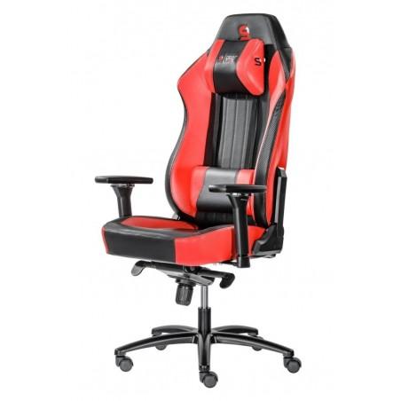 Fotel SPC Gear SR700 RED (Czerwony, skóra ekologiczna)