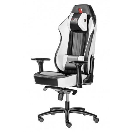 Fotel SPC Gear SR700 WHITE (Biały, skóra ekologiczna)