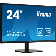 Monitor iiyama ProLite  X2474HS-B1 24'' VA FullHD FlickerFree BlueLightReducer