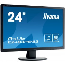 Monitor iiyama ProLite  E2483HS 24'' FLICKER FREE FULL HD LED