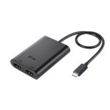 Adapter USB-C 2x HDMI 4K Ultra HD kompatybilny z...