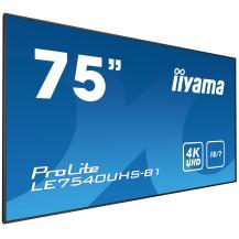 """Monitor wielkoformatowy iiyama ProLite LE7540UHS-B1 75"""" 4K iisignage"""