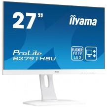 "Monitor iiyama ProLite B2791HSU-W1 27"" Biały UltraSlim FlickerFree BlueLightReducer +..."
