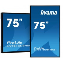 "Monitor wielkoformatowy iiyama ProLite LH7510USHB-B1 75""..."
