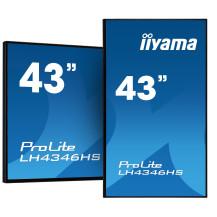 "Monitor wielkoformatowy iiyama ProLite LH4346HS-B1 43"" 24/7 z systemem Android i..."