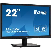 Monitor iiyama ProLite X2283HS-B5 22'' LED, FLICKER FREE,...